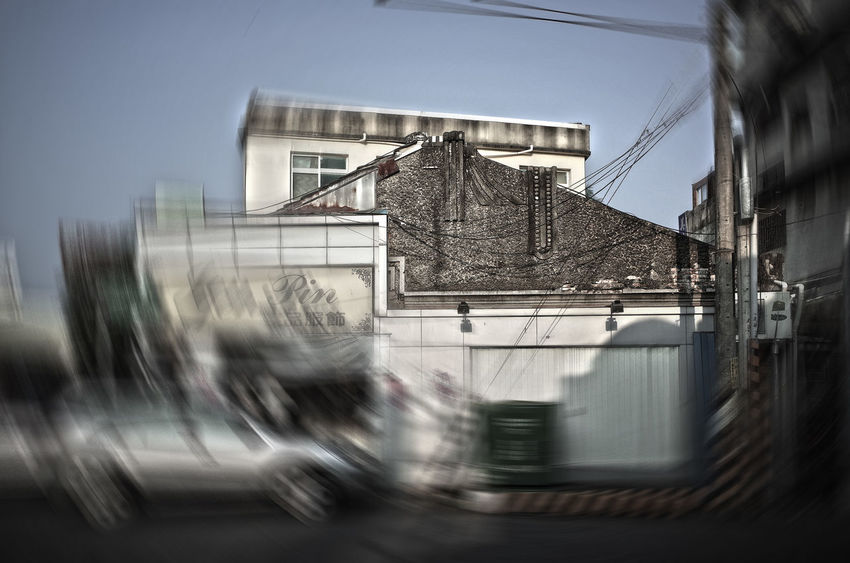 Blurred Building Building Exterior Built Structure Countryside Getting Inspired House Human Settlement On The Street Small Town Something Different Street Photography 西螺