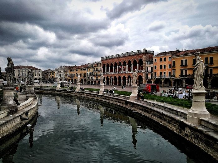 Padova, Aprile 2019 Hdr_Collection City Sky And Clouds Water Water Reflections Architecture Building Exterior Built Structure