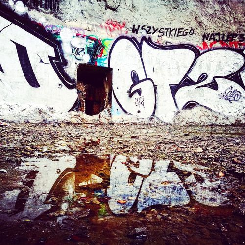 Graffiti Street Art Creativity Art And Craft Wall - Building Feature Spray Paint Paint Communication Full Frame Day Outdoors Textured  Drawing Backgrounds Built Structure Real People One Person Architecture Close-up Young Adult Industrial Industrial Photography First Eyeem Photo