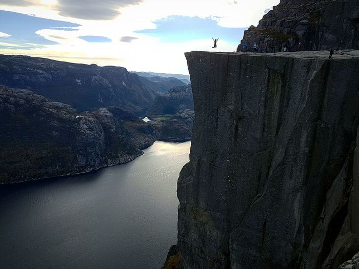 Norway Norway🇳🇴 Preikestolen Pulpit Rock HIKES OUTDOOR Hiking Norge Travel Adventure Spectacular View From Above Fjordsofnorway Fjord Scandinavia First Eyeem Photo