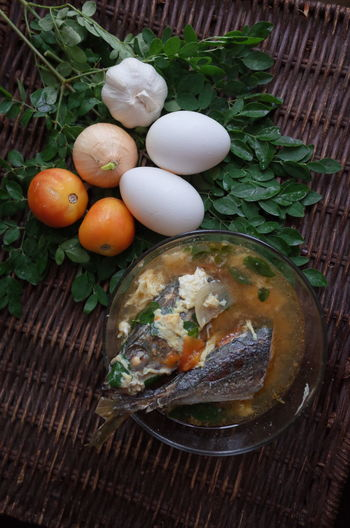 Asian Food Day Egg Filipino Food Food Food And Drink Fragility Freshness Group Of Objects High Angle View Meal No People