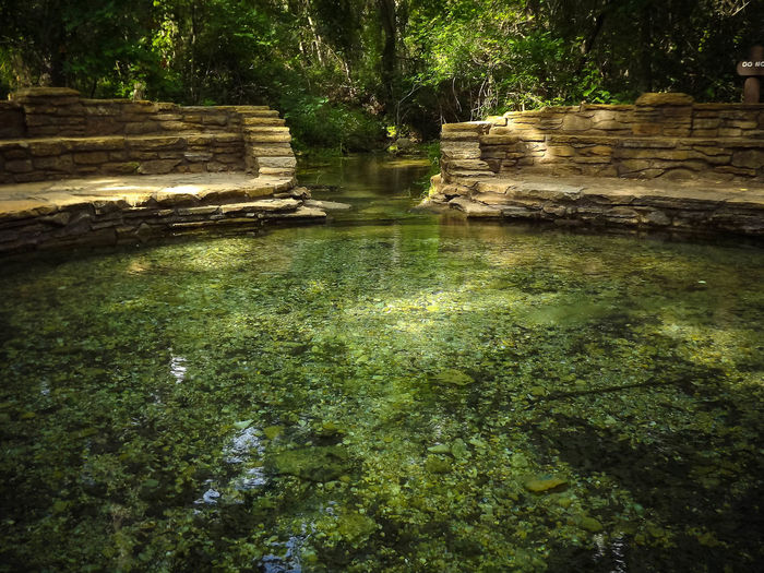 Natural spring fed pool in Platt National Park at Sulphur, Oklahoma Beauty In Nature Buffalo Springs Green Color Natural Spring Nature No People Oklahoma Oklahoma Nature Outdoor Outdoors Parks And Recreation Platt National Park Spring Water Sulphur, Ok Water