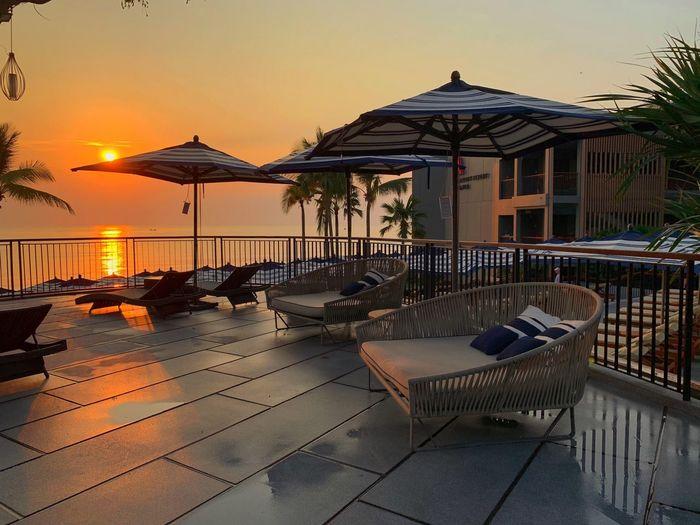 Sunset at Hua