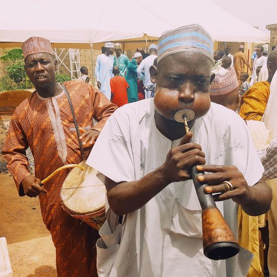 Arts Culture And Entertainment Flute Player Music Ceremony Africa Day To Day Northern Nigeria Jimeta Art Is Everywhere