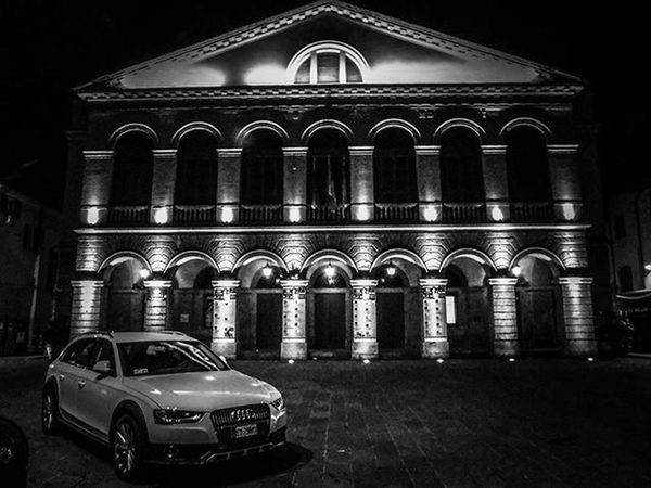 🌟● Teatro Goldoni ●🌟 Goodnight BuonaNotte Buenasnoches Blackandwhite Bw Bnw Biancoenero Monochrome Italia Italy Igersitalia Instaitalia Toscana Tuscany Livorno Vivolivorno