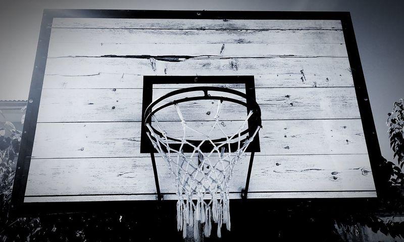 Old Hoop Navàs Basketball Hoop Wooden Weathered
