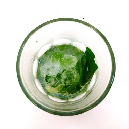 Drinks Mint Green Top View