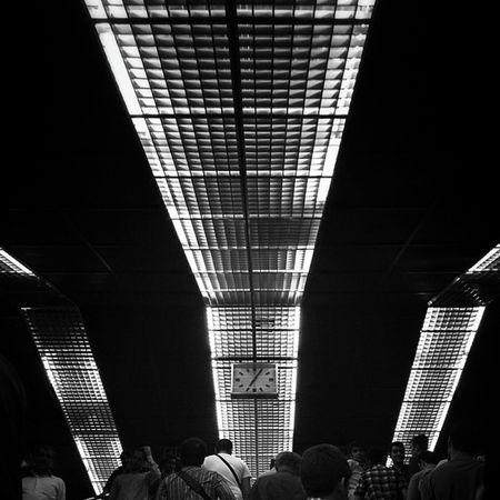 Underground Metro Clock
