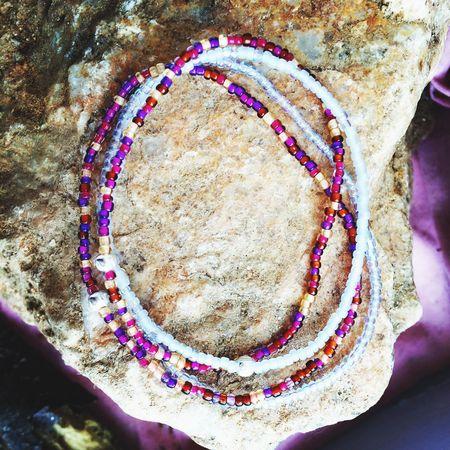 Bali inspired Bracelets available at my shop on Etsy LilacAndLemon set of 4 Bohemian Handmade