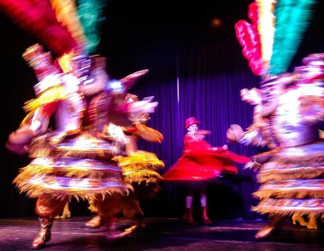 Bolivian flolklore Performance Travel Destinations Blurred Motion Multi Colored Full Length Large Group Of People Outdoors People