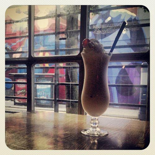 I think it's a milkshake!!!! Thelanes Bristol Eat