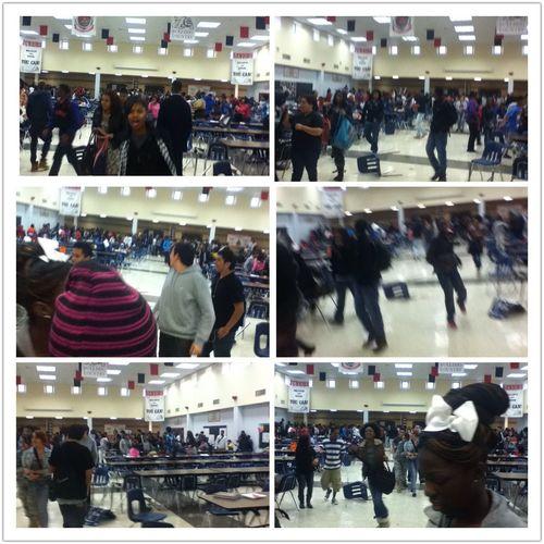 Food Fight At School