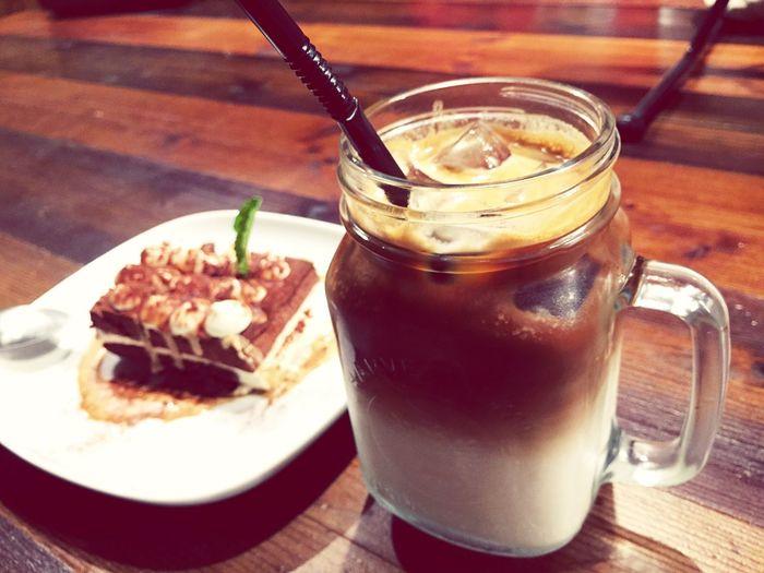 Cafe Latte Dessert Teatime