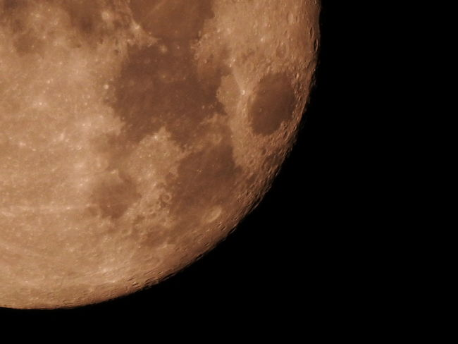 Astronomy Beauty In Nature Close-up Moon Moon Surface Měsíc Night No People Outdoors Planetary Moon Sky Space Star - Space