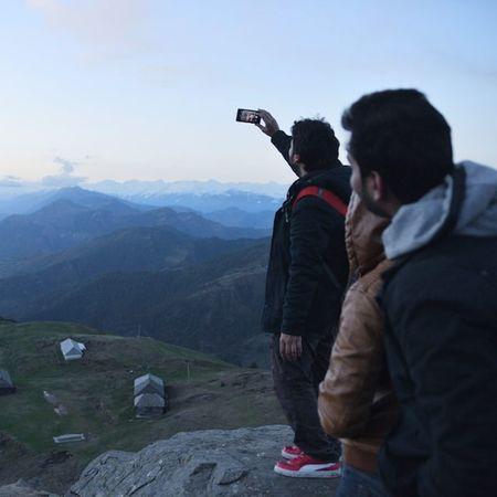 Selfie @ Parasharlake Top Himalaya Himachal Parashar Lake Highaltitude Huts Temple Rishi Dost Friends HP Mandi Kullu Roadtrip Ankitdogra
