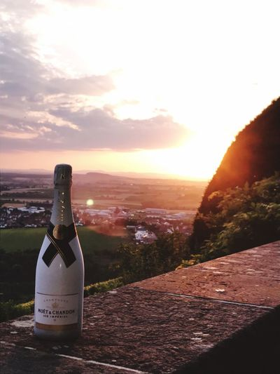 Panorama Panoramic Photography View Moet & Chandon Champagne Sunset Outdoors Sky Landscape