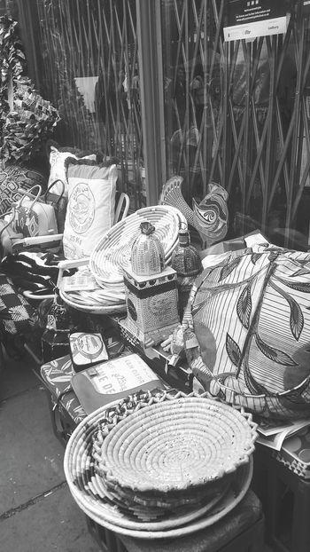 Stalls At Sunday Market Streetphotography Blackandwhite Monochrome Photography EyeEm LOST IN London Postcode Postcards