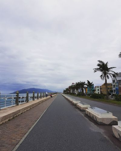 City Sky Hualien, Taiwan Taiwan Photography Travel Port Photo Endless Road Beauty In Nature Sea Water Beyond Cloud - Sky Nature Cloud Hualian