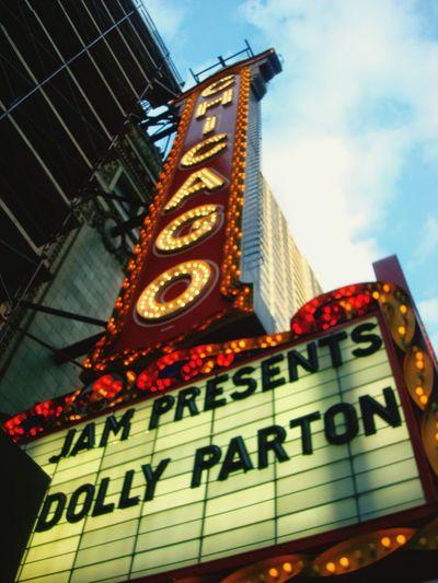 Dolly Parton Chicago Theater Picoftheday