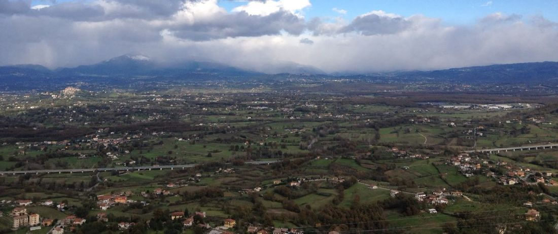 Panorama su Ceprano e dintorni Landscape_Collection CiociariaEye Walking Around Traveling