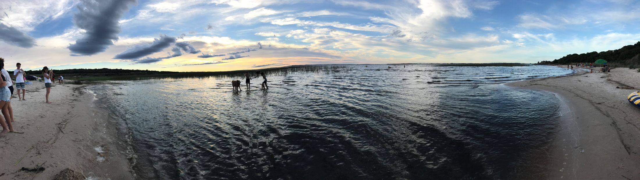 BLACK LAGOON Water Sky Cloud - Sky Sea Beach Beauty In Nature Scenics Outdoors Tranquility Tranquil Scene Day Sand Real People Horizon Over Water One Person People Nofilter#noedit Panoramic