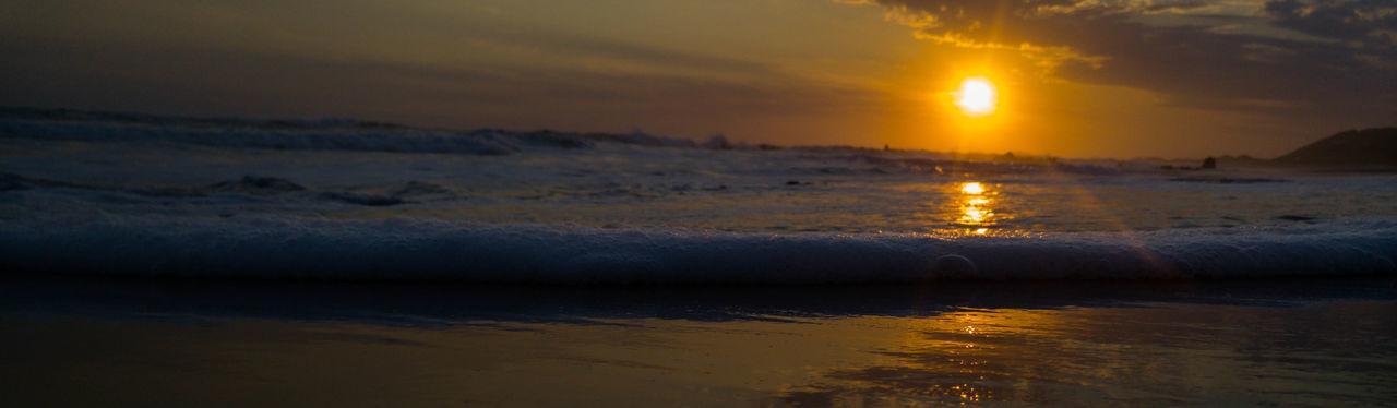 Sunset Reflection Sun Sea Landscape Outdoors Beach Nature Beauty In Nature Horizon Over Water Close-up Eyemphotography EyeEm Best Shots Photography Eyeemsouthafrica South Africa Vacations Water Scenics Beauty In Nature EyeEmBestPics South African Sunsets Travel Destinations EyeEmNewHere Portrait