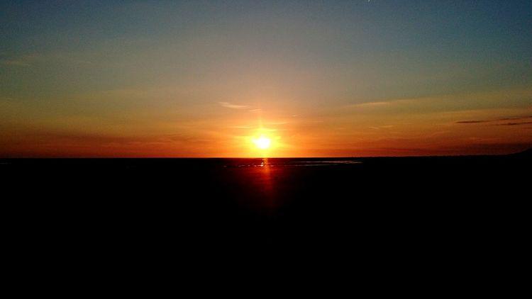 Sunrise Berck Plage France Summer Work 2016