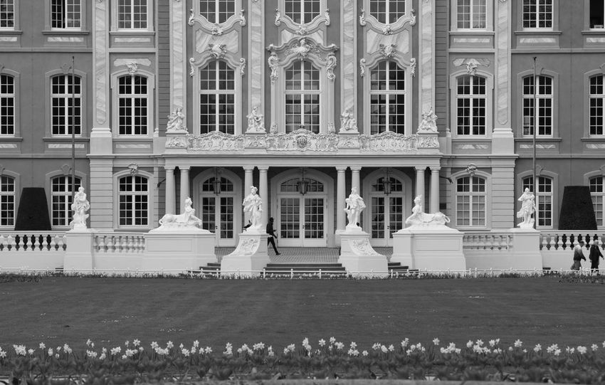 Architecture Black & White Black And White Building Exterior Front View Historical Building Outdoors Palace Treves Trier