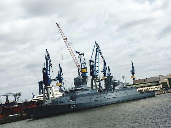 Navy Ship Cloud - Sky Transportation Shipping  Water Nautical Vessel Machinery Freight Transportation