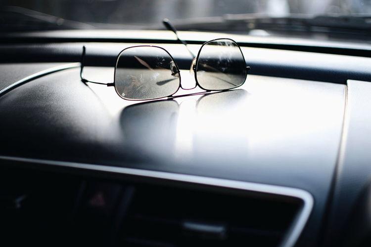 InMakin! Sunglasses Eyeglasses  Car Dashboard Sunlight Close-up Product Photography Randomness EyeEm Ready