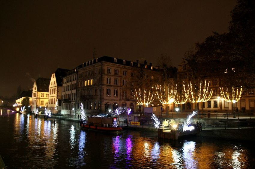 Nightphotography Visiting Strasbourg :) Strasbourg By Night Christmas Decorations Strasburg Strasbourg♥ Night Lights Strasbourg EyeEmBestPics EyeEm Best Shots