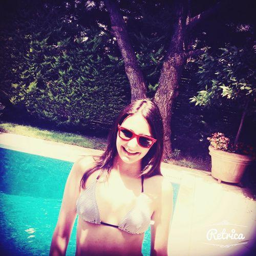 Summer's all around ..?? Summer ☀ Girl Soaking Up The Sun Swimming