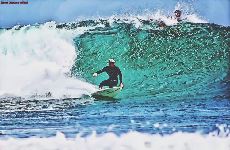 My brother - Picture by Luciano Cabal, my edit Beach Surfing HDR Collabs_Unlimited
