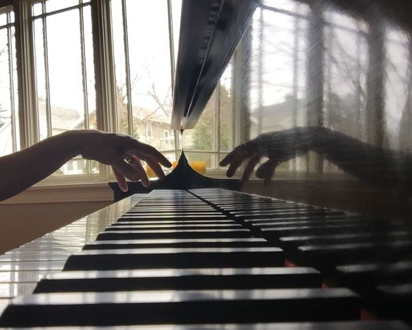 Interior Views Piano Piano Keys Playing The Piano March Showcase Music Showcase March Hand Hands Making Music