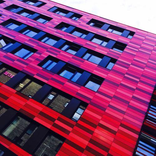 Osthafen Architecture Reddish Spree Nhow Berlin