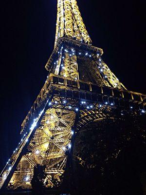 La Tour Effel I love Paris at night...