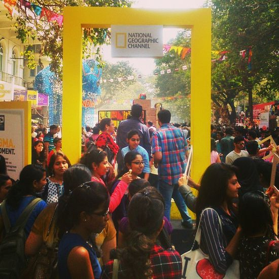 The Places I've Been Today Kalaghoda Art Festival Nationalgeographic_