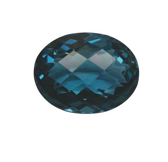 Blue London natural gemstone Expensive Cut Polishing Transparent Shape Stone Fancy Beautiful Gemstones Design Texture Fashion Background Oval Natural Blue Jewelry Checkerbord White Background Gemstone  Luxury Day