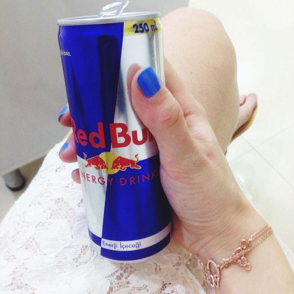 Sleepy Drinking Red Bull Tired
