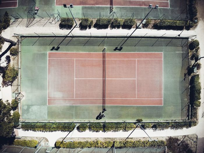 """TENNIS AREA"" Tenniscourt DJI Mavic Air Plant Architecture Building Exterior Day No People Built Structure Outdoors Nature Green Color Digital Composite Geometric Shape Auto Post Production Filter Pattern Window Grass Tree Growth High Angle View Directly Above Close-up"