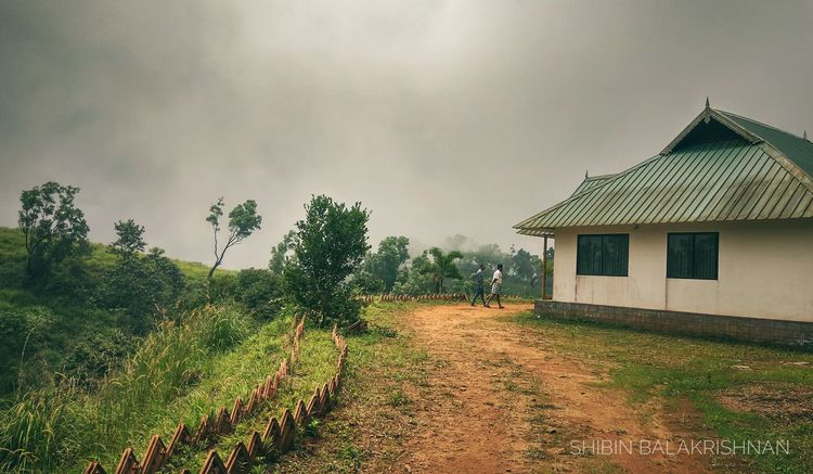 Hilltop Idukki Kerala The Gods Own Country ;) India Nature Traveling Travelphotography Agriculture Rural Scene Field Outdoors Growth Tree No People Day Landscape Architecture Sky