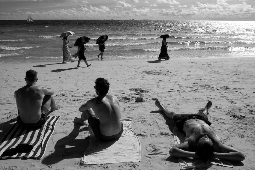 Monochrome Photography Street Photography Beach Eyeem Philippines FilipinoStreetPhotographers Philippines Enjoy The New Normal