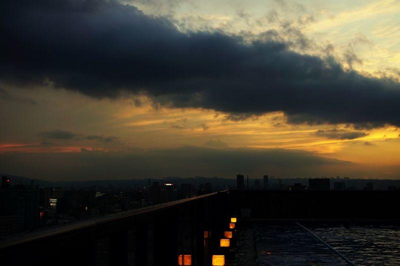 Cloud - Sky Sky Water Architecture Built Structure Building Exterior City Sunset Illuminated Dusk Scenics - Nature Cityscape