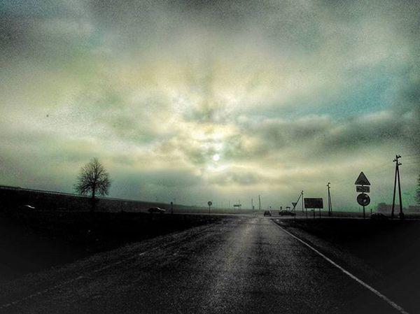 беларусь Природа весна Дорога скидель утро небо фото март Машина Belarus Nature Road Sky Morning Spring Skidel Photo Follow Car Telephone Mobile телефон фотостелефона