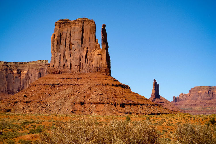 Monument Valley Rock Formation Western USA Geological Formation Sandstone Rocks Eroded Rocks Rocky Landscape USA Geological Formations Sandstone Scenic Landscapes Wind Erosion Old West  Eroded The Old West Physical Geography Rocky Mountains Rock - Object