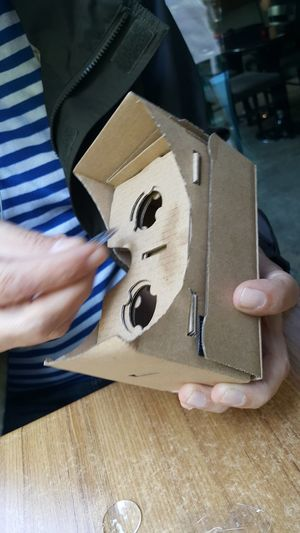 Google Cardboard 3d Visualization