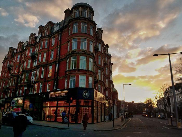 Sunset Bayswater London