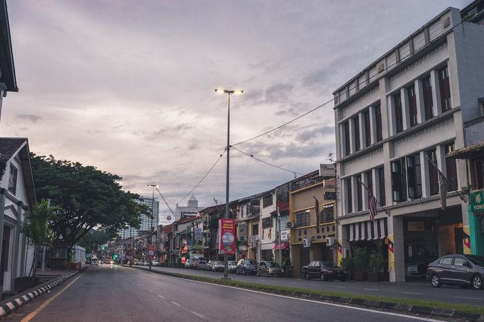 One fine morning in Kuching Sarawak Borneo. Sarawak Malaysia Architecture Sky Tourism TOWNSCAPE Town City Cityscape City Street City Streets  Citylife Urban Urban Exploration Urbanexploration