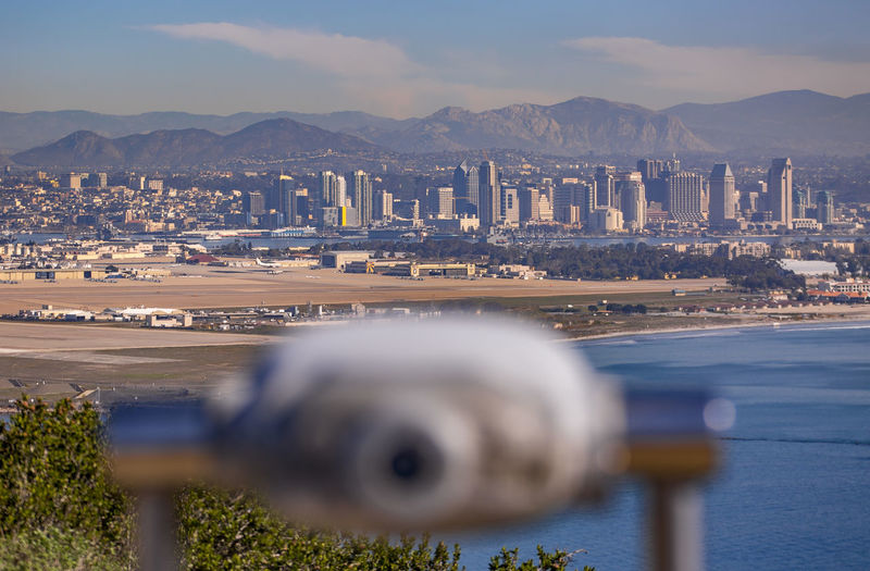 Architecture Beauty In Nature Building Exterior Built Structure Cali California California Coast California Dreaming California Love City Cityscape Coin-operated Binoculars Day Mountain Nature No People Outdoors San Diego Sea Sky Water