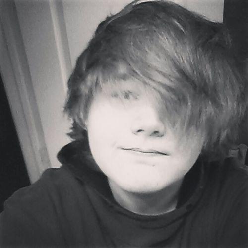 Its hard to smile Emo Gauges Green Eyes New Gauges  Longhair Thinking Scared
